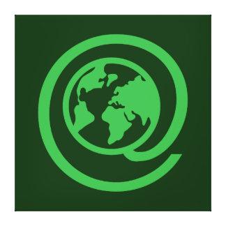 Earth Day, @earth Canvas Print