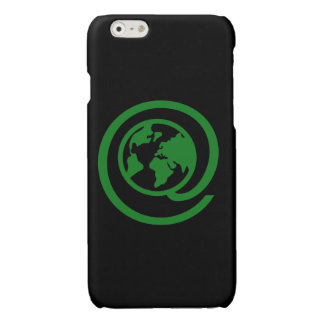 Earth Day, @earth Glossy iPhone 6 Case