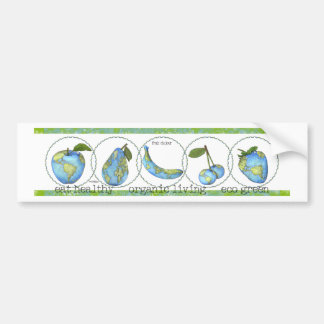 Earth day - eco bumper stickers