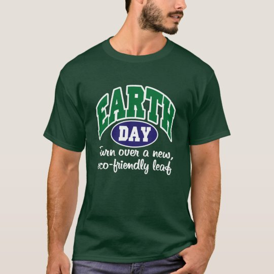 Earth Day Eco-Friendly T-Shirt