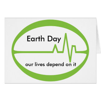 Earth  Day EKG Card