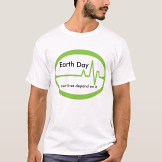 Earth  Day EKG T-Shirt