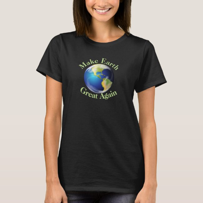 Earth Day Environmental Design Shirt