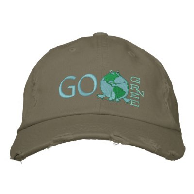 Earth Day Environmental Embroidered Hat