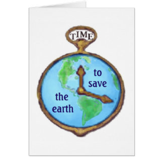 Earth Day Environmental Frog Card