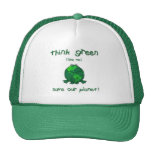 Earth Day Environmental Frog Trucker Hat
