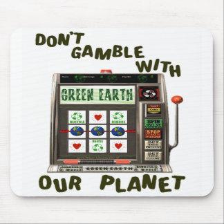 Earth Day Environmental Gamble Mousepads