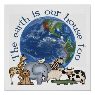 Earth Day/Environmental Poster print