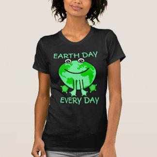 Earth Day Environmental World Frog T-Shirts