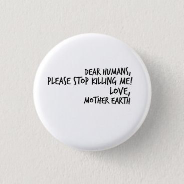 Lawyer Themed Earth Day Environmentalist Eco Gift Button