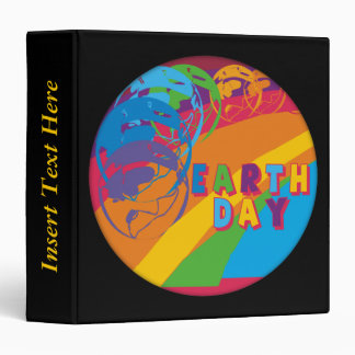 Earth Day Event Avery Binder