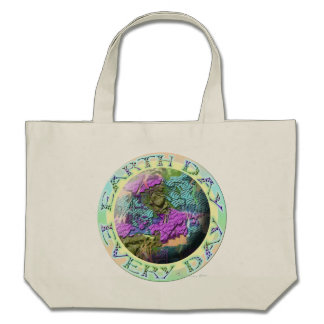 Earth Day Every Day Tote Bags