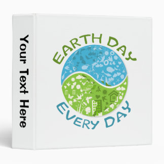 Earth Day Every Day Binder