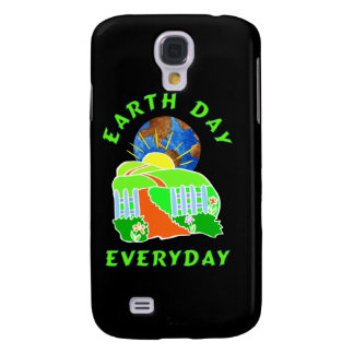 Earth Day Every Day Samsung Galaxy S4 Cases
