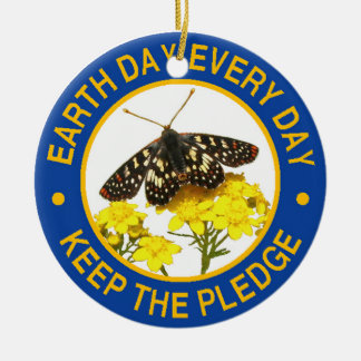 Earth Day Every Day Christmas Ornament