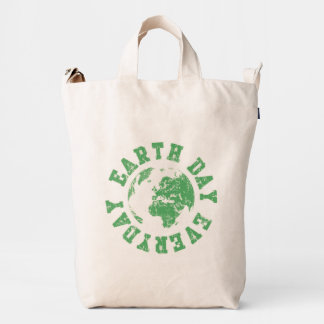 Earth Day Every Day Duck Bag