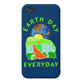 Earth Day Every Day iPhone 4/4S Cover