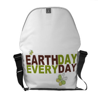 Earth Day Every Day Messenger Bag