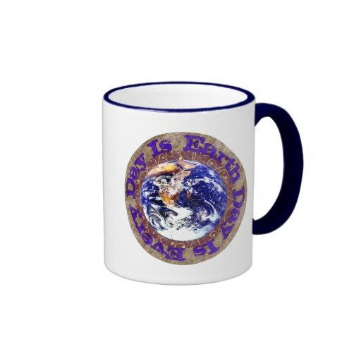 Earth Day Every Day Coffee Mugs