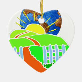 Earth Day Every Day Christmas Tree Ornaments