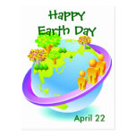 Earth Day Every Day Post Cards