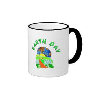 Earth Day Every Day Ringer Mug