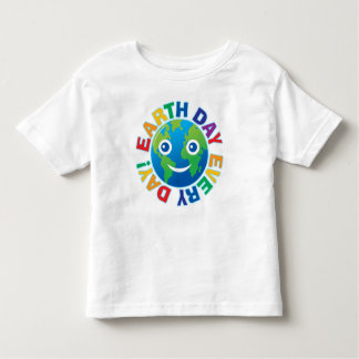 Earth Day Every Day! Toddler T-shirt