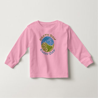 Earth Day Every Day Toddler T-shirt