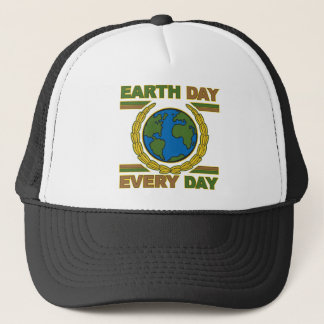Earth Day Every Day Trucker Hat