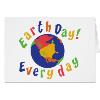 Earth Day Everyday Card