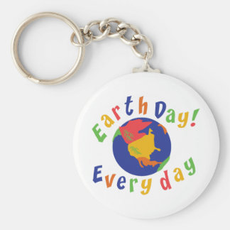 Earth Day Everyday Keychains