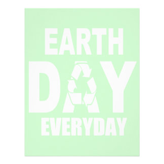 Earth Day Everyday Letterhead Template