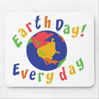 Earth Day Everyday Mouse Mat