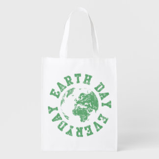 Earth Day Everyday Reusable Grocery Bags