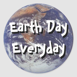 Earth Day Everyday Sticker