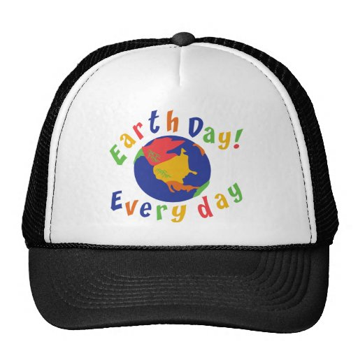 Earth Day Everyday Trucker Hat