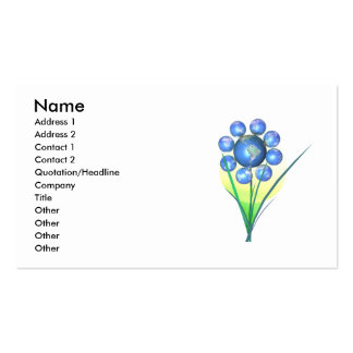 Earth Day Flower - Business Business Card