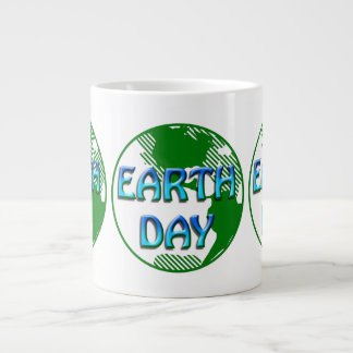 Earth Day  - Giant Coffee Mug