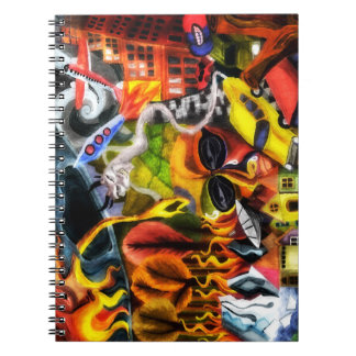 Earth Day global warming painting notebook