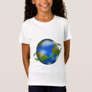 Earth Day Globe Girls T-Shirt