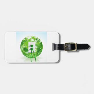 Earth Day Globe Luggage Tags