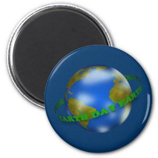 Earth Day Globe Magnet