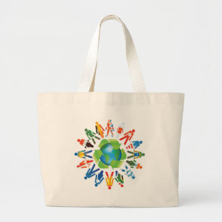 EARTH DAY GO GREEN TOTE BAG