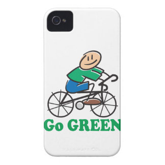 Earth Day Go Green iPhone 4 Case-Mate Case
