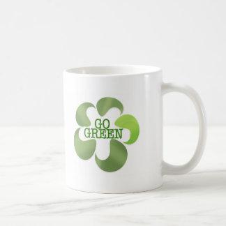 EARTH DAY GO GREEN COFFEE MUG
