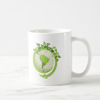 EARTH DAY GO GREEN COFFEE MUGS