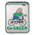 Earth Day Go Green Sleeves For iPads
