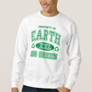 Earth Day Go Green Sweatshirt