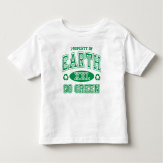 Earth Day Go Green Toddler T-shirt