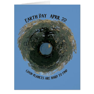 Earth Day-Good Planets Card